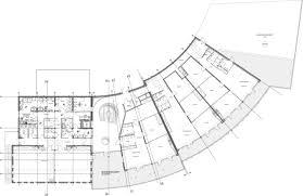 recreation center floor plan gallery of the recreation center of u201cle bois des gelles u201d g