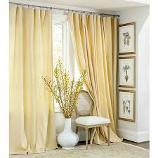 Smocked Burlap Curtains Ballard Essential Panel