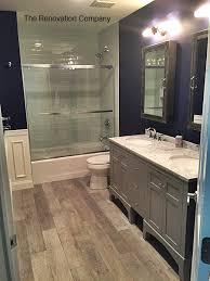 remarkable bathroom wood tile floor ideas best image engine