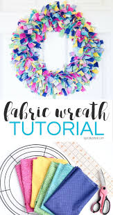 hoops and yoyo thanksgiving the 25 best fabric wreath tutorial ideas on pinterest wreath