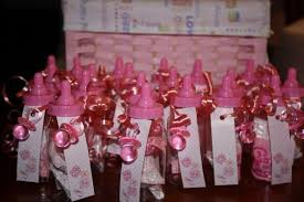 baby bottle centerpieces baby shower table ideas girl ohio trm furniture