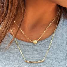 layered rings necklace images The summer jewelry trends we can 39 t get enough of new york rag jpg