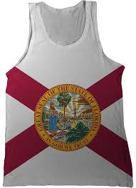 Florida State Flag Image Florida State Flag Tank Top Nation Tanks
