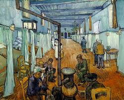la chambre à coucher gogh dormitory in the hospital in arles vincent gogh
