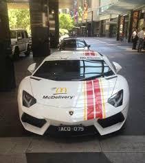 lamborghini aventador australia mcdonald s australia lamborghini aventador and f430