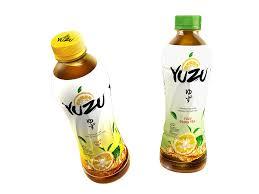 Teh Yuzu dua varian rasa minuman teh ekstrak buah yuzu aasmor dewa