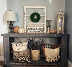 decorating an entryway table 174