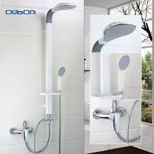 compare prices on bath shower mixer online shopping buy low price new arrival wall mount water shower faucet set bath tub shower mixers tap with handshower bathroom