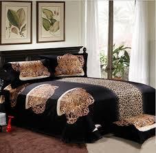 leopard 3d bed sheets sets sale creative animal bedding sets for