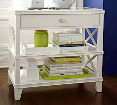 clara lattice wide bedside table pottery barn au clara lattice wide bedside table