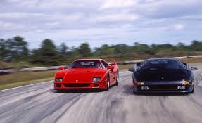 pictures of lamborghini diablo judgment day f40 meets lamborghini diablo archived