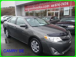 toyota siege used 2012 toyota camry xle xle toit siege chauffant recul