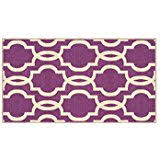purple accent rugs amazon com purple area rugs area rugs runners pads home
