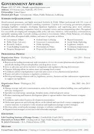 Public Relations Resumes Sample Federal Government Resume Public Relations Resume Template