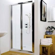 bi fold shower door bathroom hunter