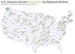 American Airlines Route Map Pdf by Industry Statistics From 2016 Annual Report Regional Airline