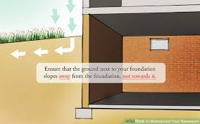 Interior Basement Wall Waterproofing Membrane How To Waterproof Your Basement 8 Steps With Pictures Wikihow