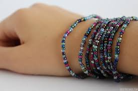 wrap bracelet with beads images Beaded wrap bracelet tutorial kid craft jpg