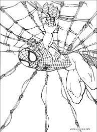 printable pictures spiderman color dessincoloriage