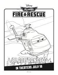 disney planes fire u0026 rescue printable coloring u2013 blade