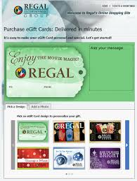 ecard gift card regal entertainment announces cyber monday gift card offer
