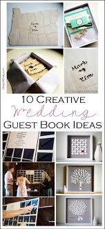 guest book ideas wedding 10 creative wedding guest book ideas shop girl daily