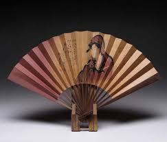 japanese folding fan japanese folding fan sensu and display stand set utamaro