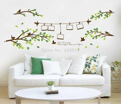 200x80cm 79x31 ay830 photo frame tree wall stickers home decor