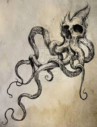 Octopus Tattoo Ideas Skull Octopus Tattoo Idea Maybe With The Tentacles In The Shape