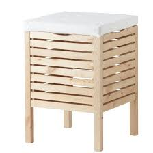 Bathroom Stools With Storage Molger Storage Stool From Ikea Furniture Pinterest Storage