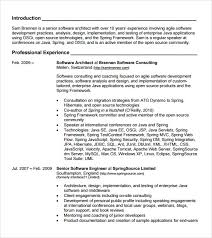 Core Java Developer Resume Sample by Java Developer Resume Template 6 Download Documents In Pdf Psd