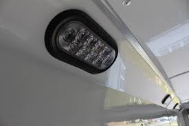enclosed trailer led lights projects idea of enclosed trailer interior lights interesting design