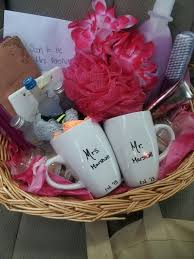 Wedding Gift Basket Wedding Gift Baskets For Bride