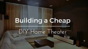 diy home interior design building a cheap diy home theater guide firefold