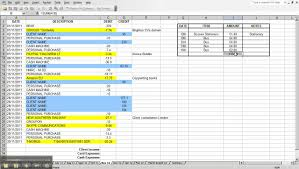 Household Expense Spreadsheet Personal Expense Sheet Thebridgesummit Co