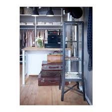 ikea fabrikor ikea fabrikor glass door cabinet dark grey livingroom urban