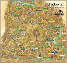 Pathfinder World Map by Shadowfen Ebonheart Pact The Elder Scrolls Online Game Guide