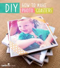 how to make diy photo coasters cardstore blog