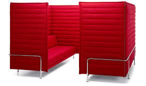Cabin Sofa Contemporary Sofa Fabric Commercial For Open Plan Areas