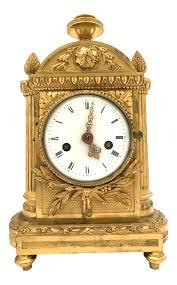 Mantel Clocks 1776 Antique French Bronze Mantel Clock Chairish