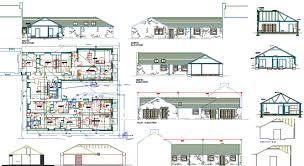 floor plan using autocad autocad file single storey house plan