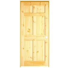 home depot jeld wen interior doors unlock prehung doors shop reliabilt 6 panel knotty pine single