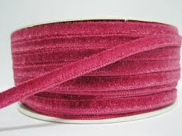 pink velvet ribbon 5 yards 1 4 hot pink velvet ribbon pink velvet ribbon ribbon