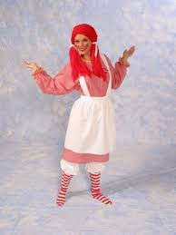 Rag Doll Halloween Costume Raggedy Ann Rag Doll Halloween Costume Dress Woman 19 001 19 002