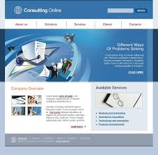 website template 13414 business consulting company custom website