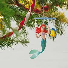 disney the mermaid ariel s world ornament keepsake