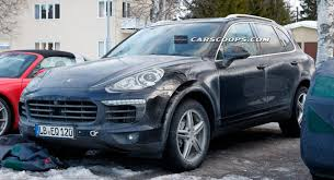 2015 porsche cayenne facelift wind blows the covers 2015 porsche cayenne facelift