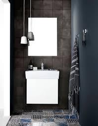 Salle De Bain Noir Et Blanc Design by