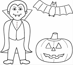 moon and witch halloween bats coloring pages on broom with the