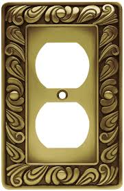 Decorative Wall Plate Covers Franklin Brass 64045 Paisley Single Duplex Outlet Wall Plate